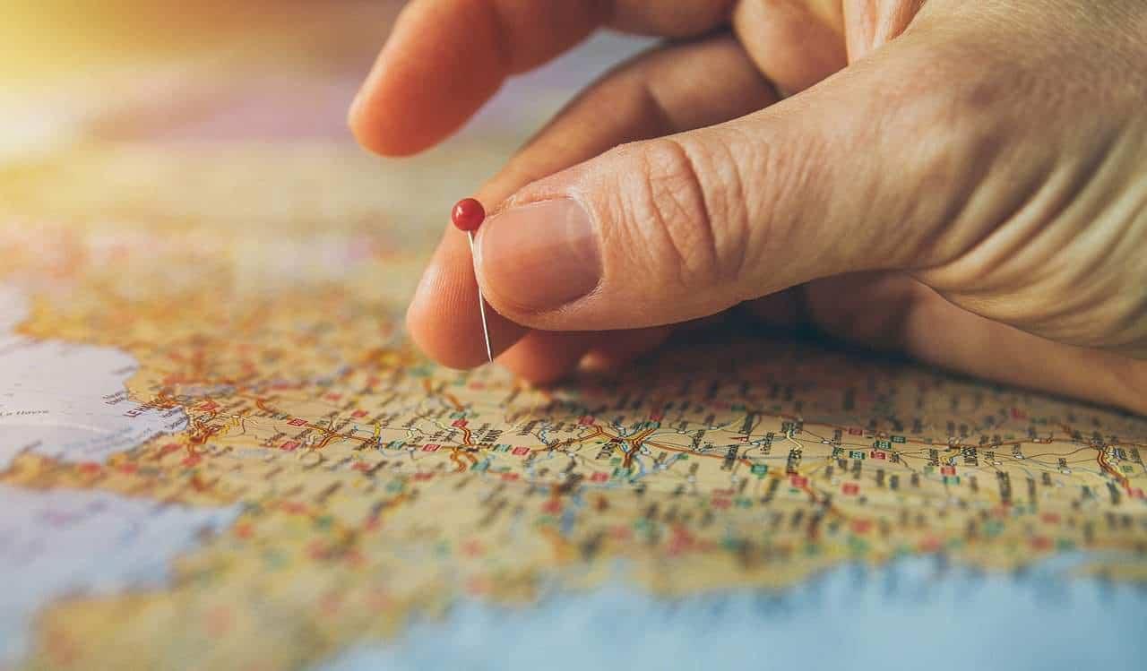 שימוש נרחב באופציית גוגל מפות